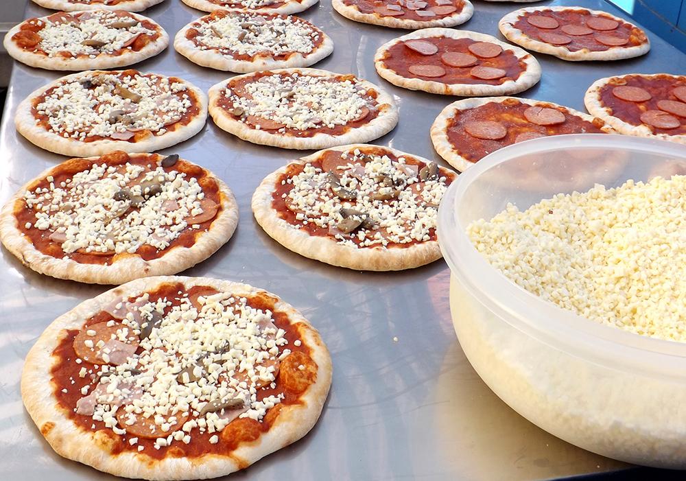 Pizzateiglinge
